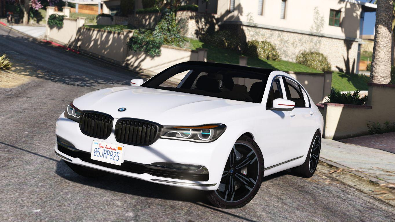 2016 bmw 750li add on replace gta5. Black Bedroom Furniture Sets. Home Design Ideas