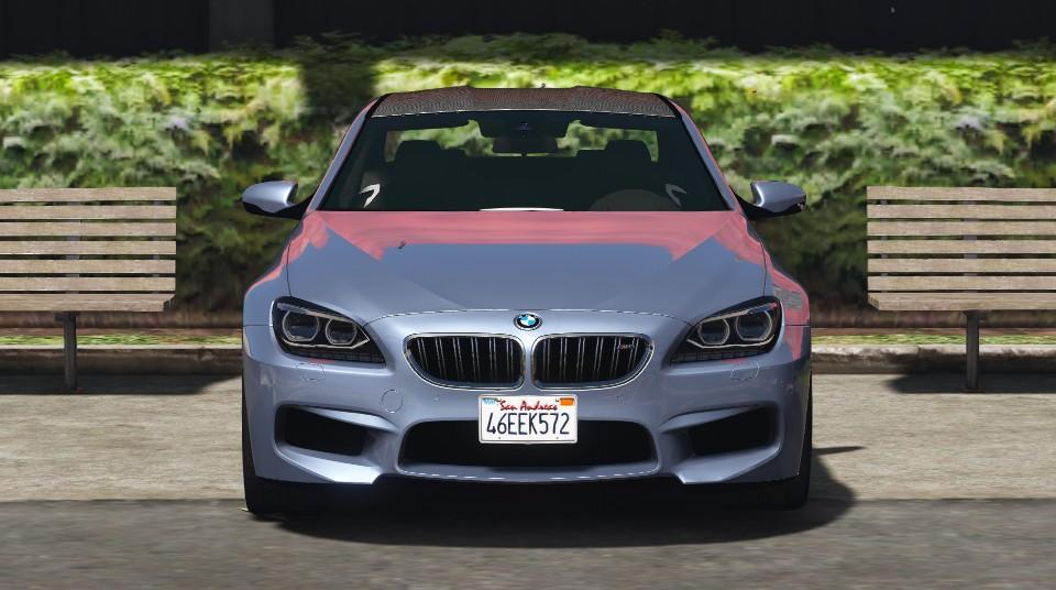 2016 bmw m6 gran coupe add on replace gta5. Black Bedroom Furniture Sets. Home Design Ideas