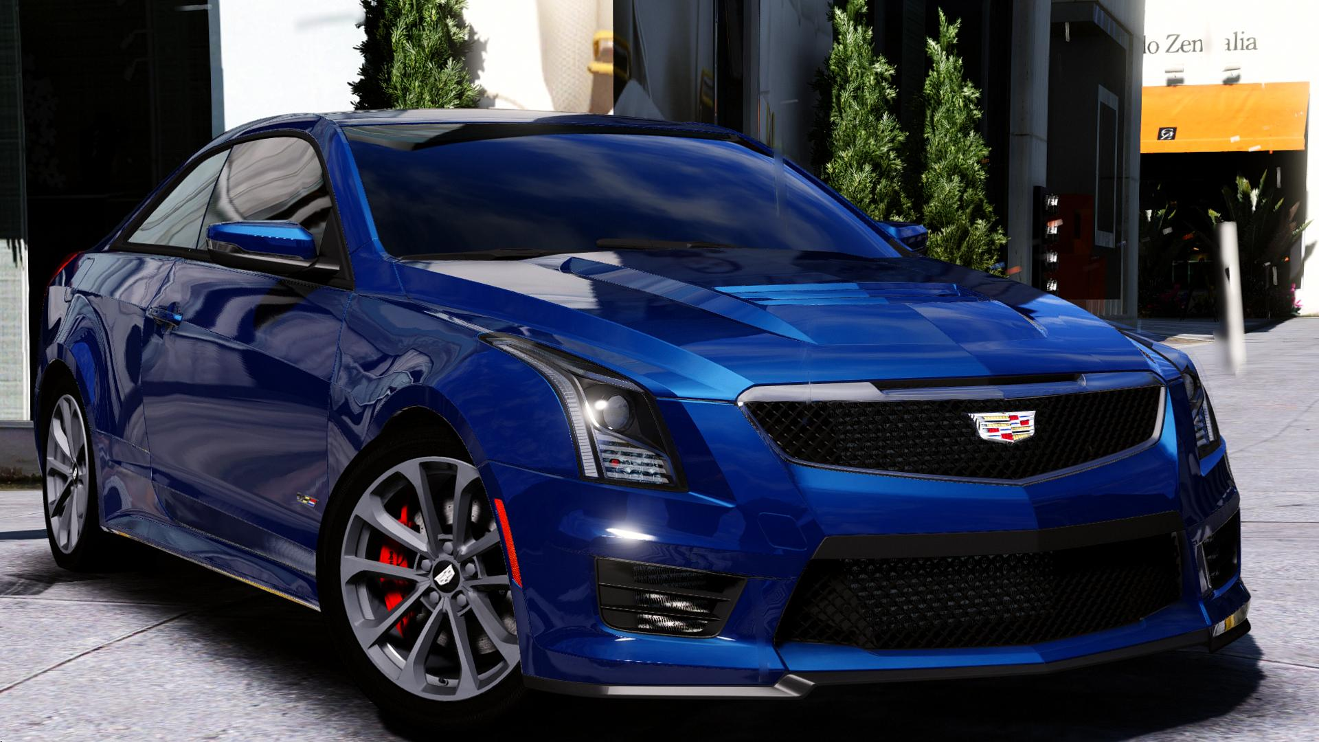 2016 cadillac ats v coupe add on replace gta5. Black Bedroom Furniture Sets. Home Design Ideas