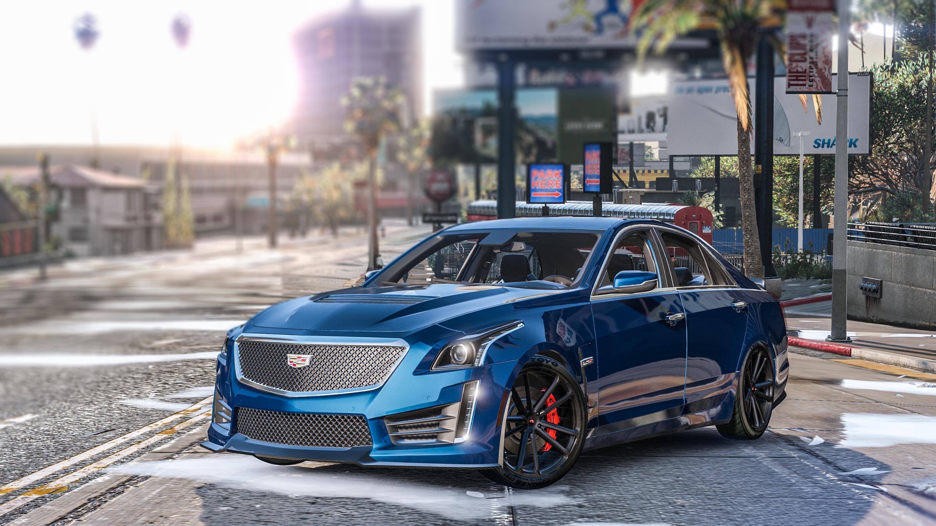 2016 Cadillac CTS-V [Add-On / Replace] - GTA5-Mods.com