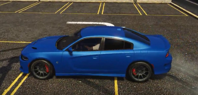 2016 dodge charger hellcat high performance drift handling gta5 modscom - 2016 Dodge Charger Hellcat Blue