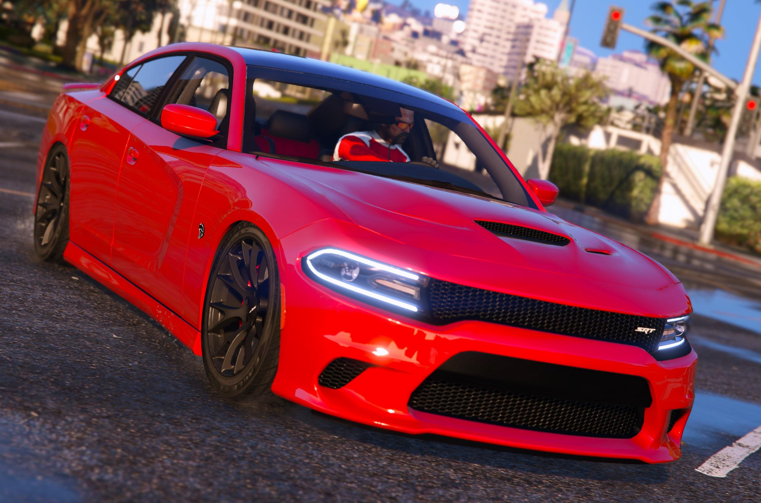 2016 dodge charger sxt r t srt 392 hellcat gta5. Black Bedroom Furniture Sets. Home Design Ideas