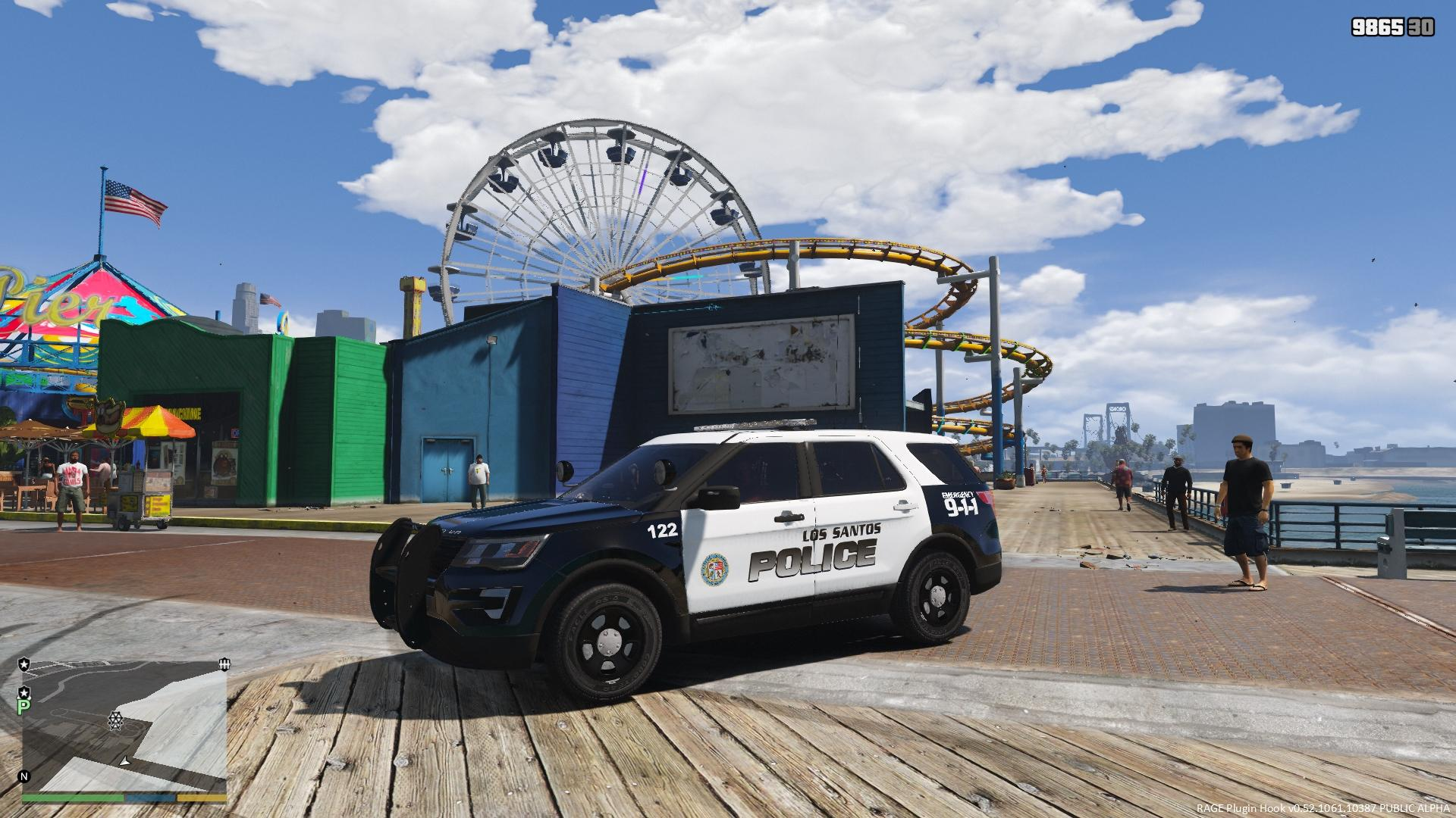 2016 ford police interceptor utility lspd skin based on