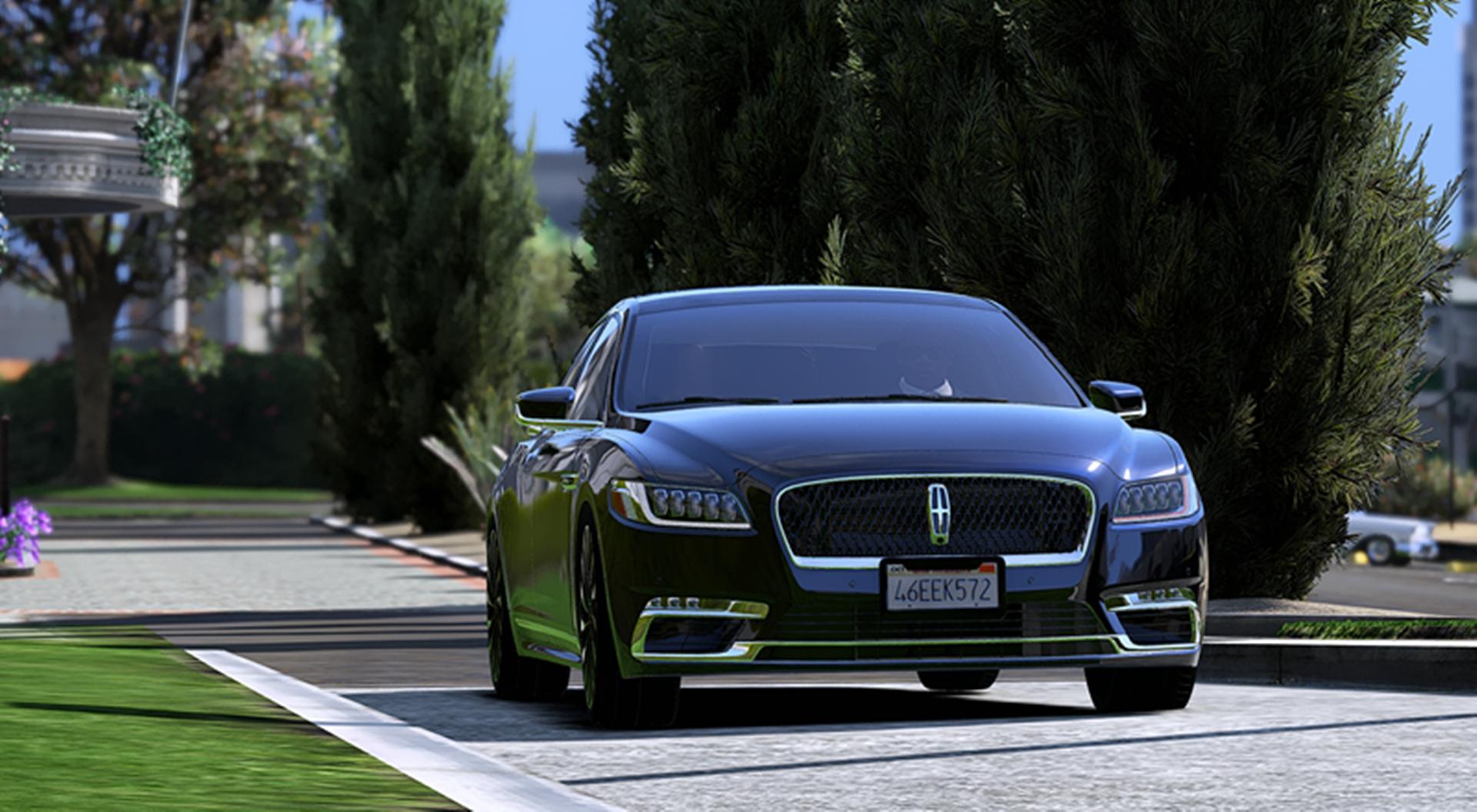 2016 Lincoln Continental Gta5 Mods Com