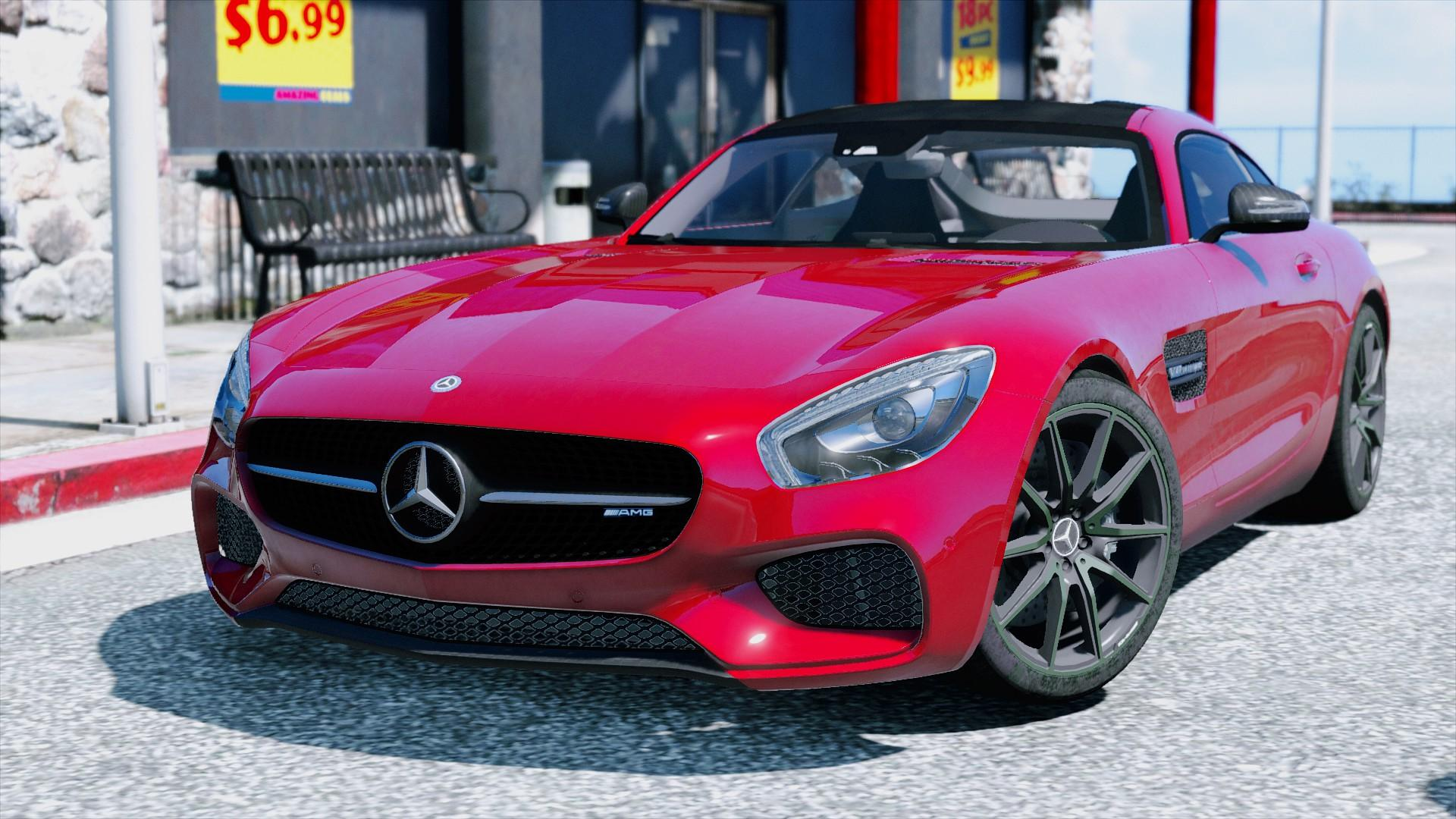2016 mercedes benz amg gt add on gta5. Black Bedroom Furniture Sets. Home Design Ideas