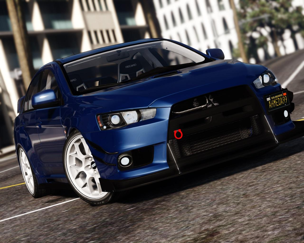 2016 mitsubishi lancer evolution x add on replace tuning hq gta5. Black Bedroom Furniture Sets. Home Design Ideas