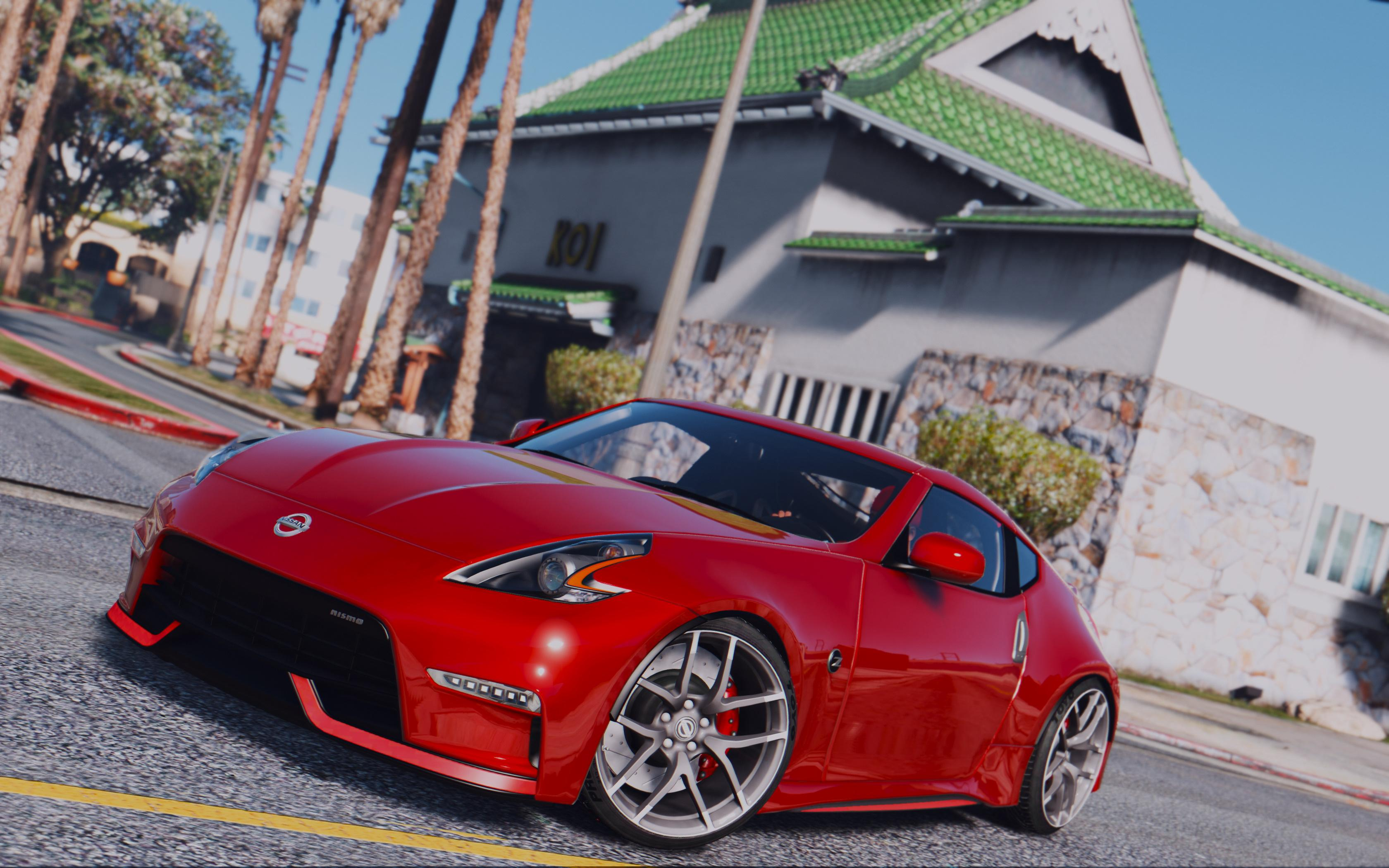 2016 nissan 370z nismo z34 add on replace gta5. Black Bedroom Furniture Sets. Home Design Ideas