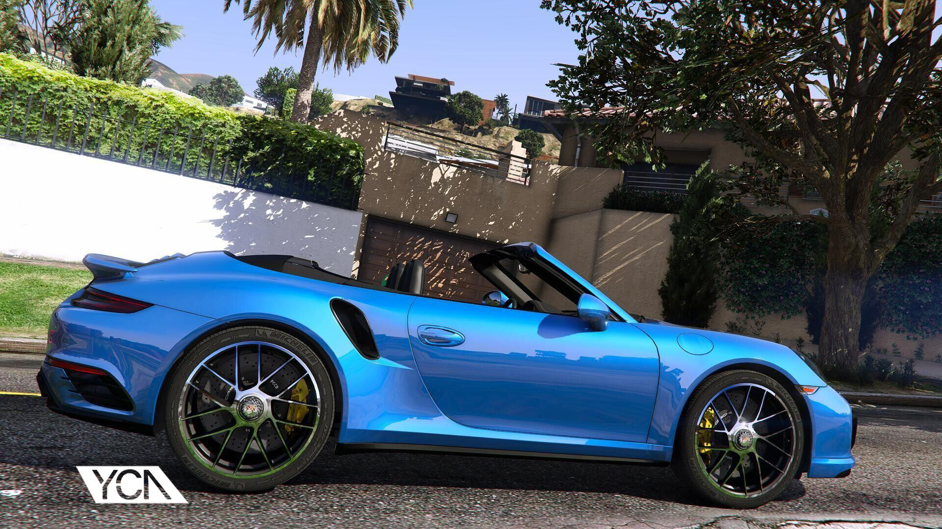 2016 porsche 911 turbo s cabriolet 991 2 add on wipers gta5. Black Bedroom Furniture Sets. Home Design Ideas