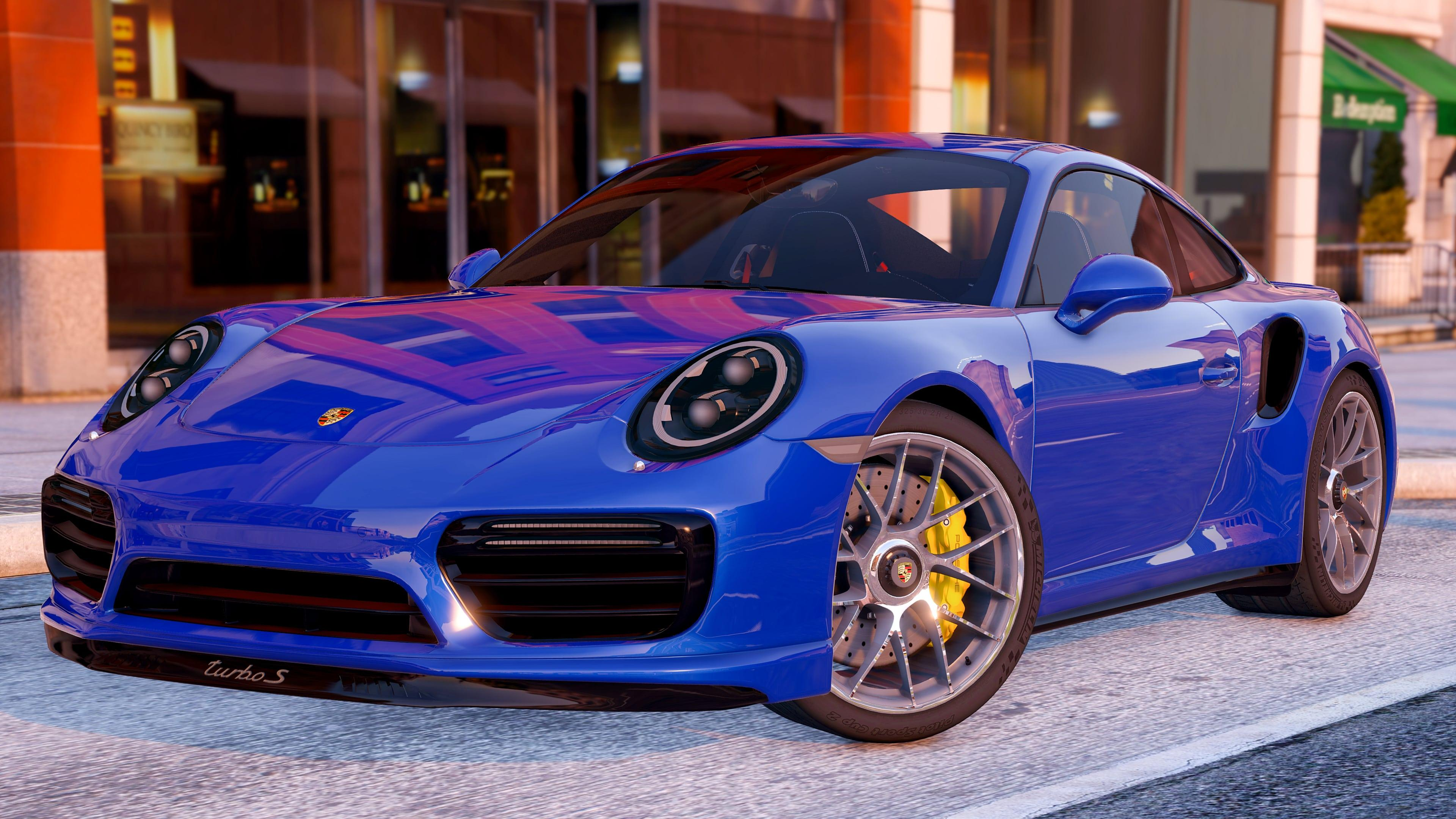 2016 porsche 911 turbo s add on replace gta5. Black Bedroom Furniture Sets. Home Design Ideas