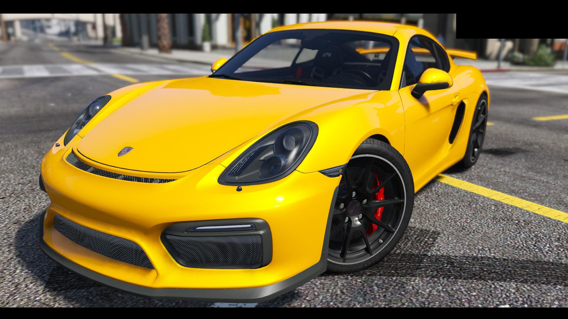2016 porsche cayman gt4 hq gta5. Black Bedroom Furniture Sets. Home Design Ideas