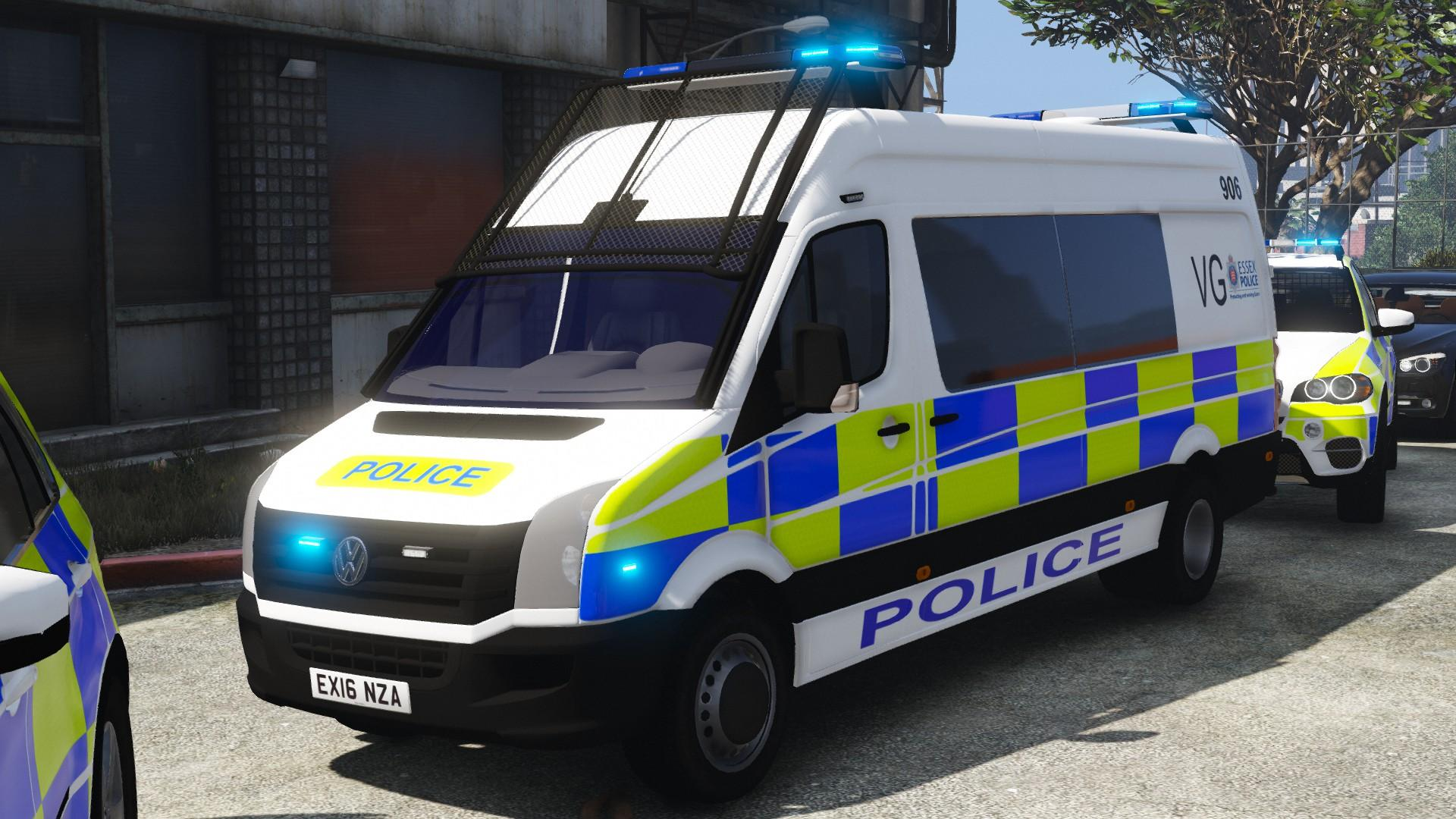 2016 volkswagen crafter essex police els gta5. Black Bedroom Furniture Sets. Home Design Ideas