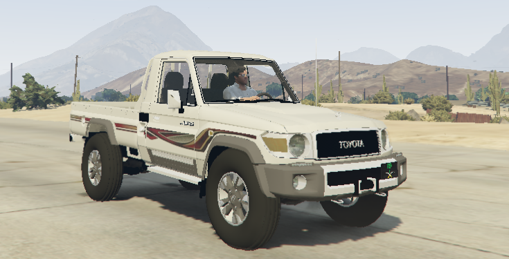 2015 toyota land cruiser pickup gta5. Black Bedroom Furniture Sets. Home Design Ideas