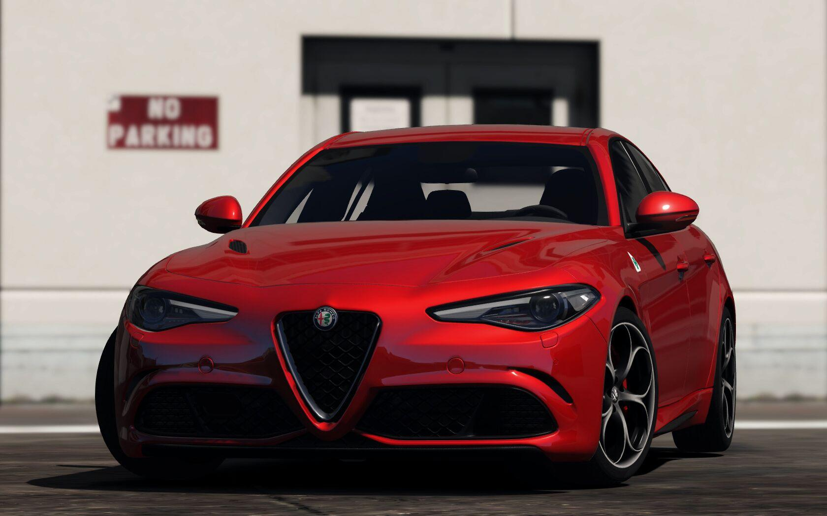 2017 alfa romeo giulia qv gta5. Black Bedroom Furniture Sets. Home Design Ideas