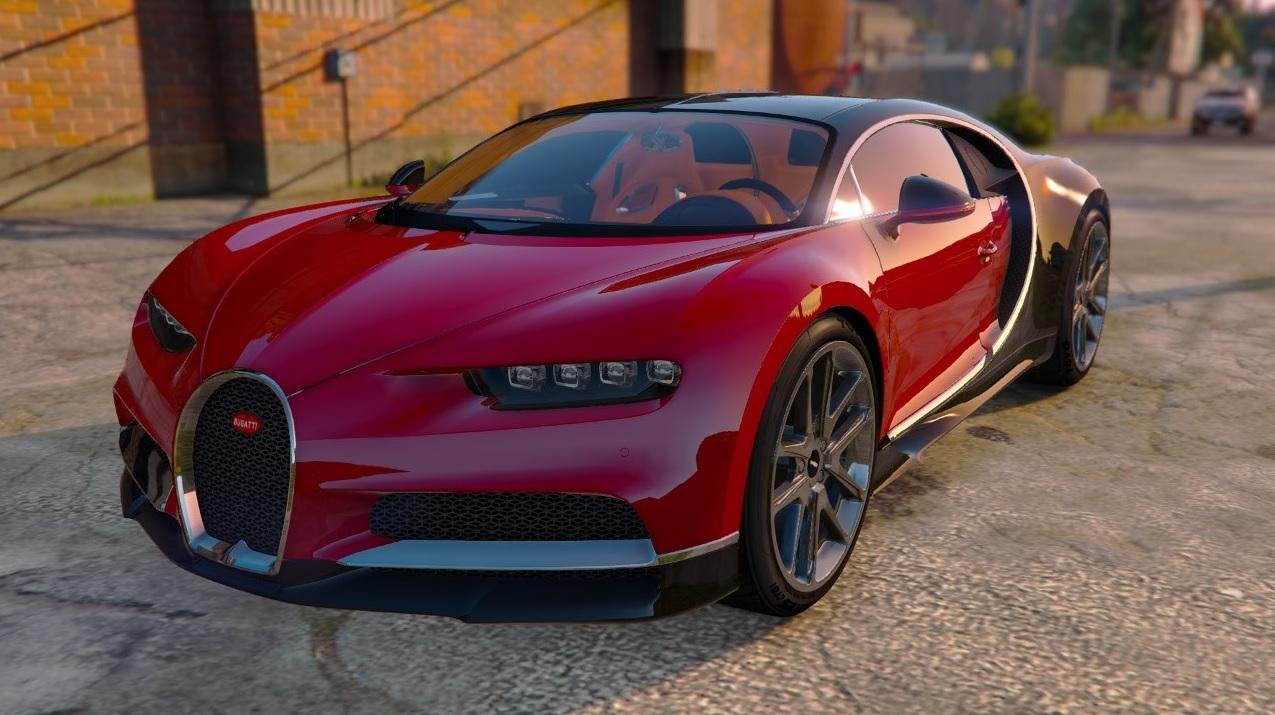2017 bugatti chiron add on replace auto spoiler hq interior gta5. Black Bedroom Furniture Sets. Home Design Ideas