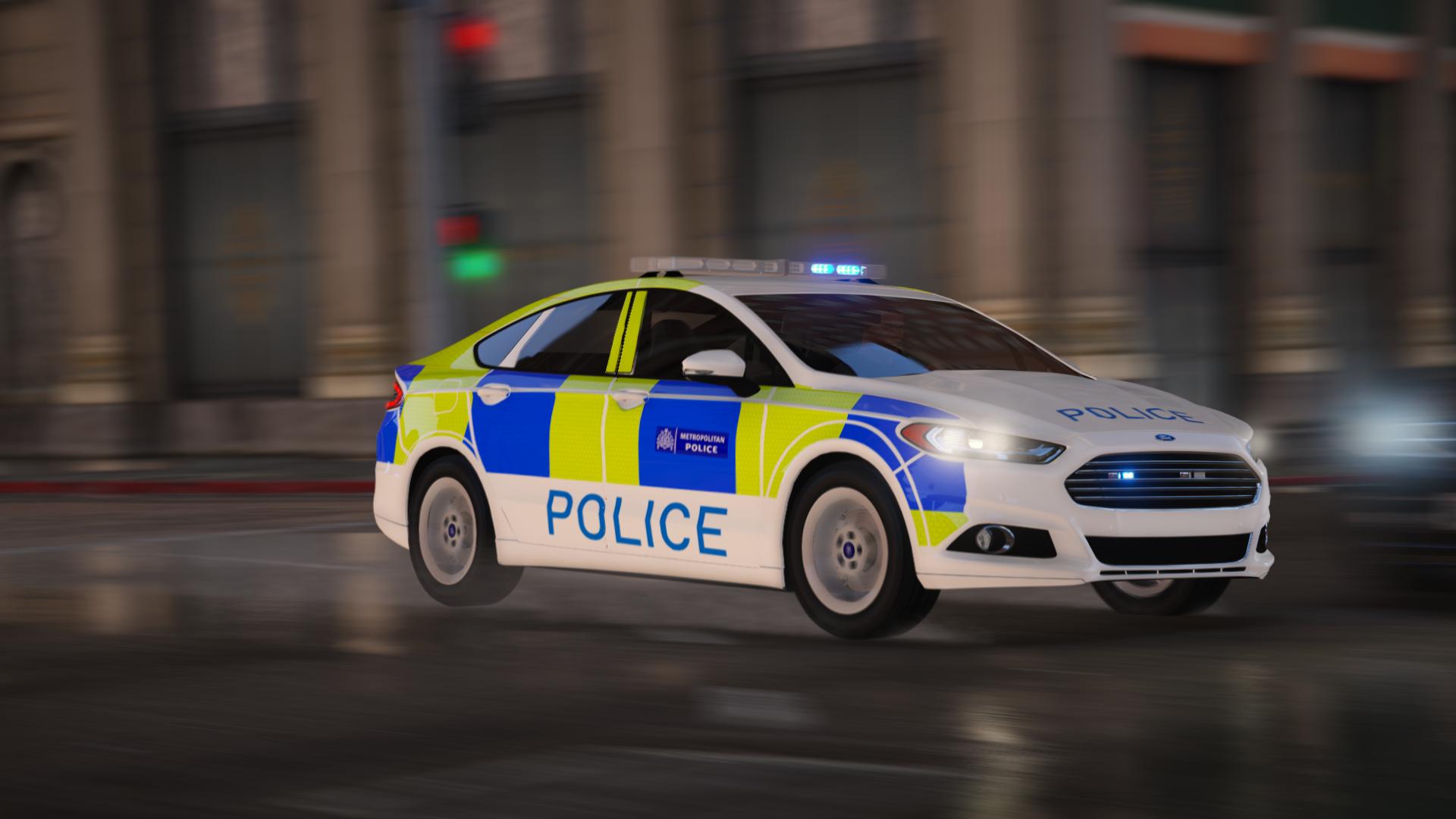 2017 Ford Mondeo Fictional Police Car Gta5 Mods Com