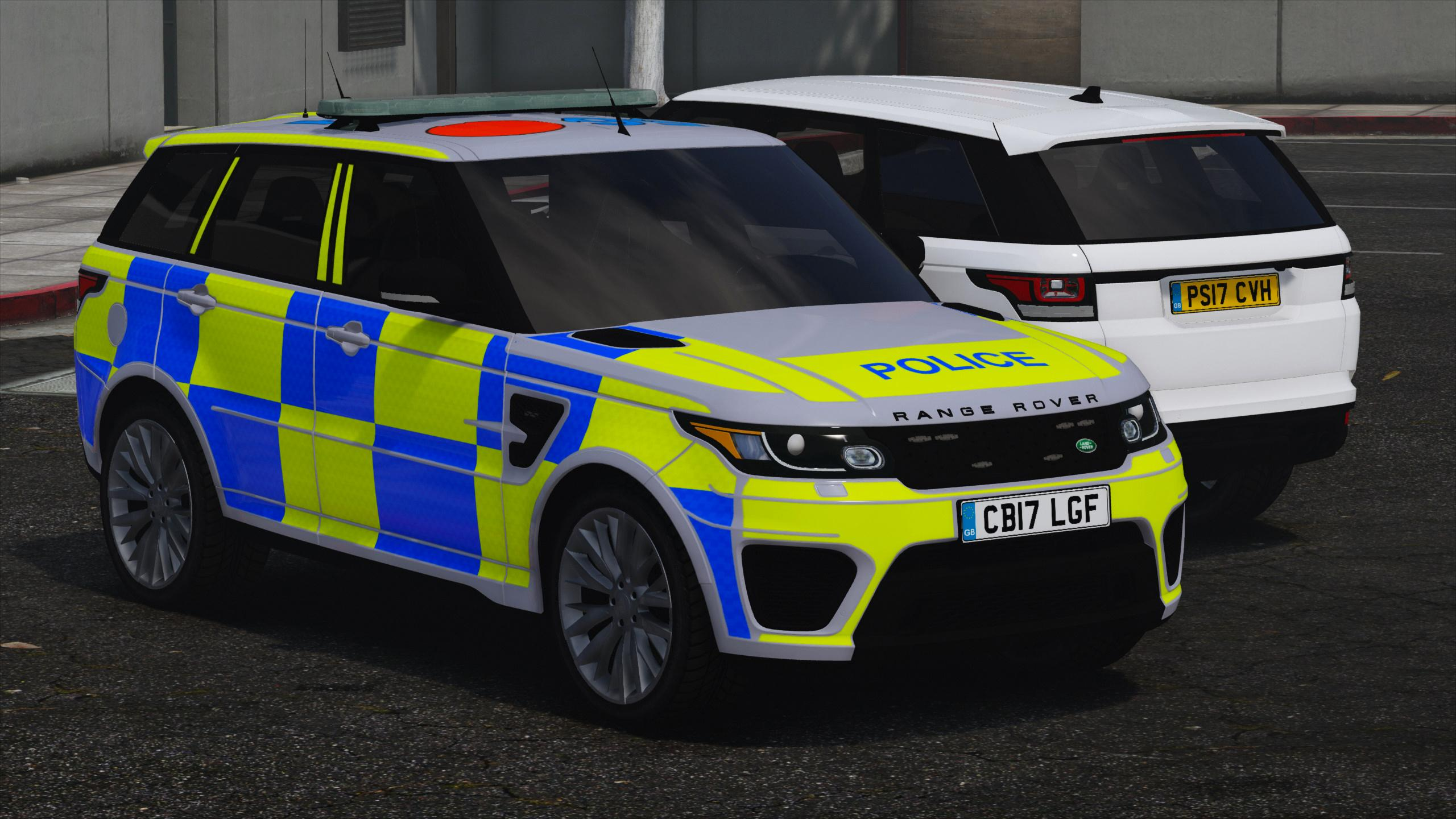 2017 Police Range Rover Svr Gta5 Mods Com