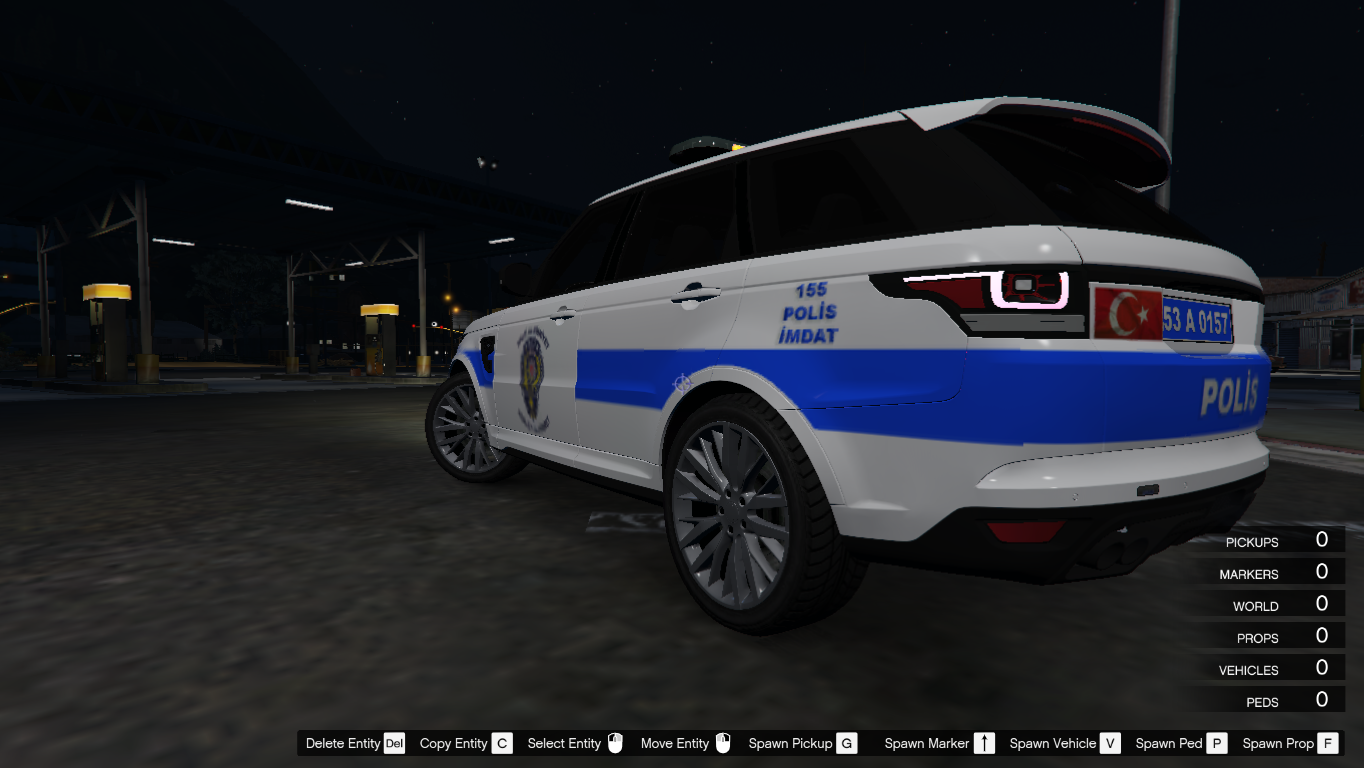 2017 Range Rover Turk Polis Arabasi Gta5 Mods Com