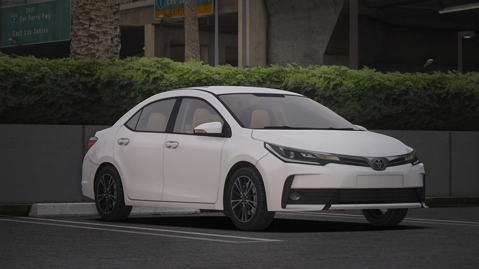 2017 Toyota Corolla Gta5 Mods Com
