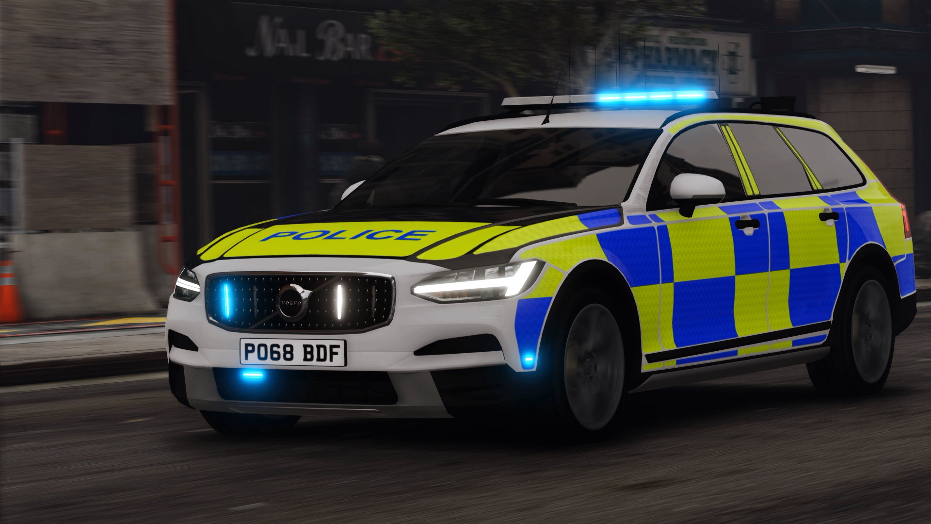 2018/2019 Volvo V90 Cross Country Marked & Unmarked (ELS