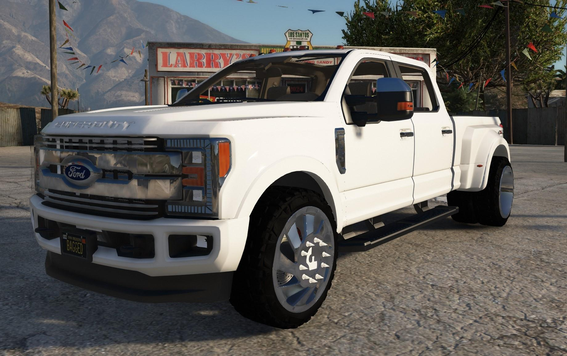 2018 Ford F-350 Super Duty Dually  Add-on