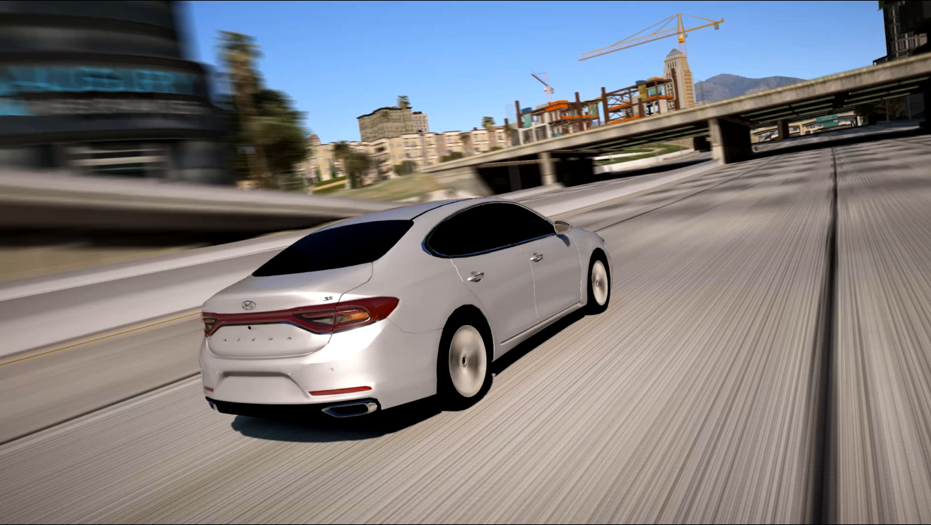 Azera 2018 Interior >> 2018 Hyundai Azera [Replace] - GTA5-Mods.com