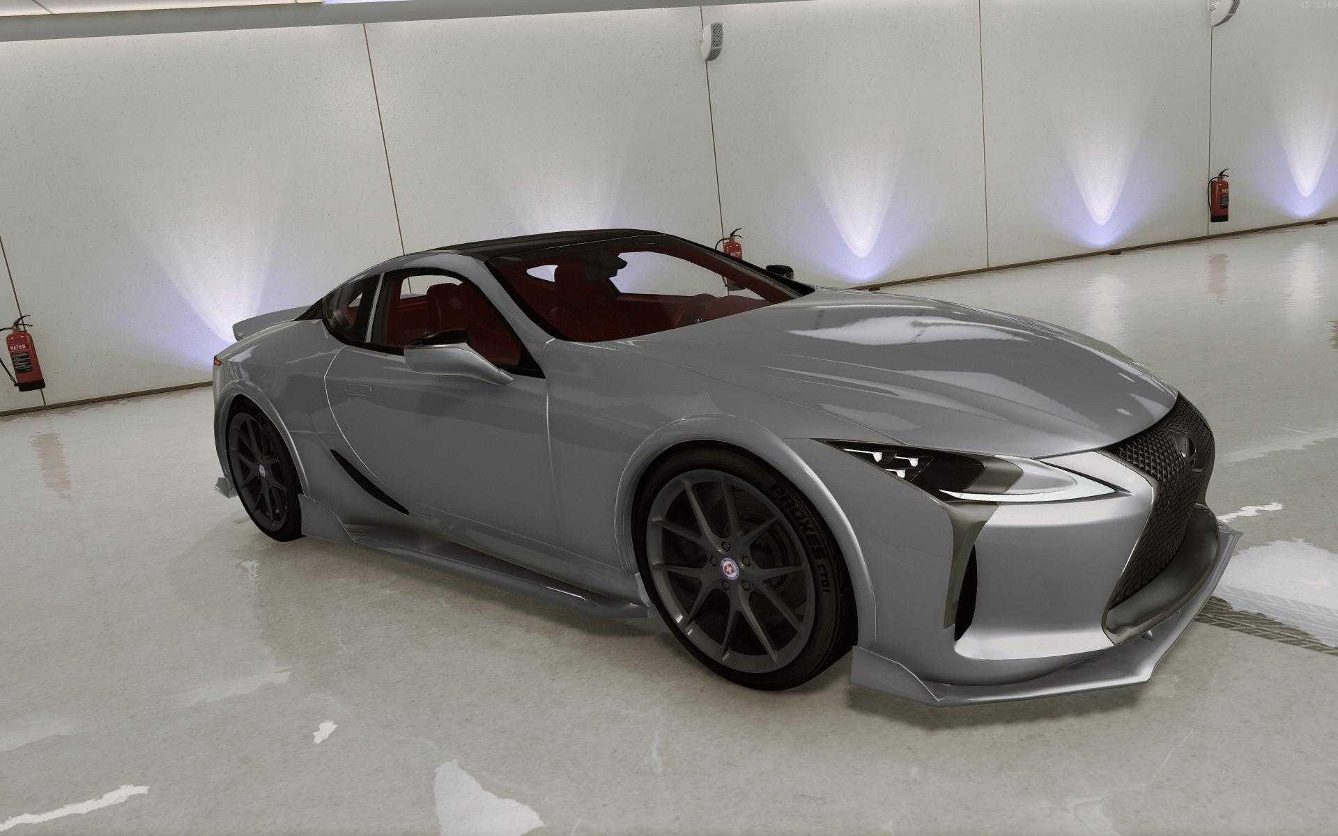 2018 lexus lc 500 add on tuning hq gta5. Black Bedroom Furniture Sets. Home Design Ideas