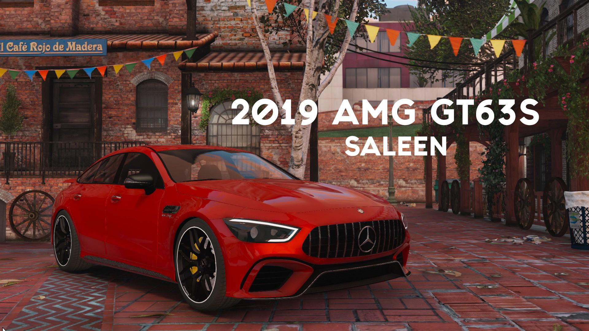 2019 AMG GT63S [Add-on-Replace] - GTA5-Mods.com