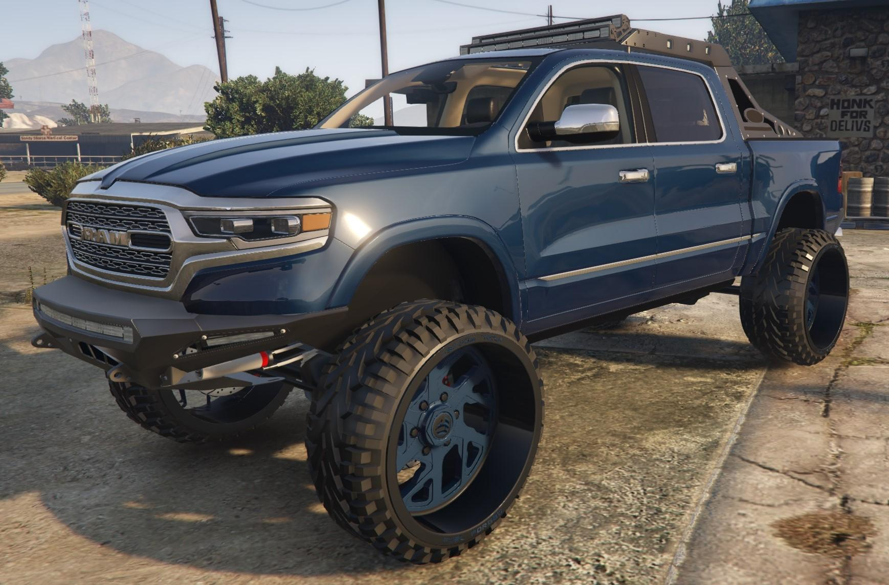 2018 Single Cab Tacoma >> 2019 Dodge Ram Offroad - GTA5-Mods.com