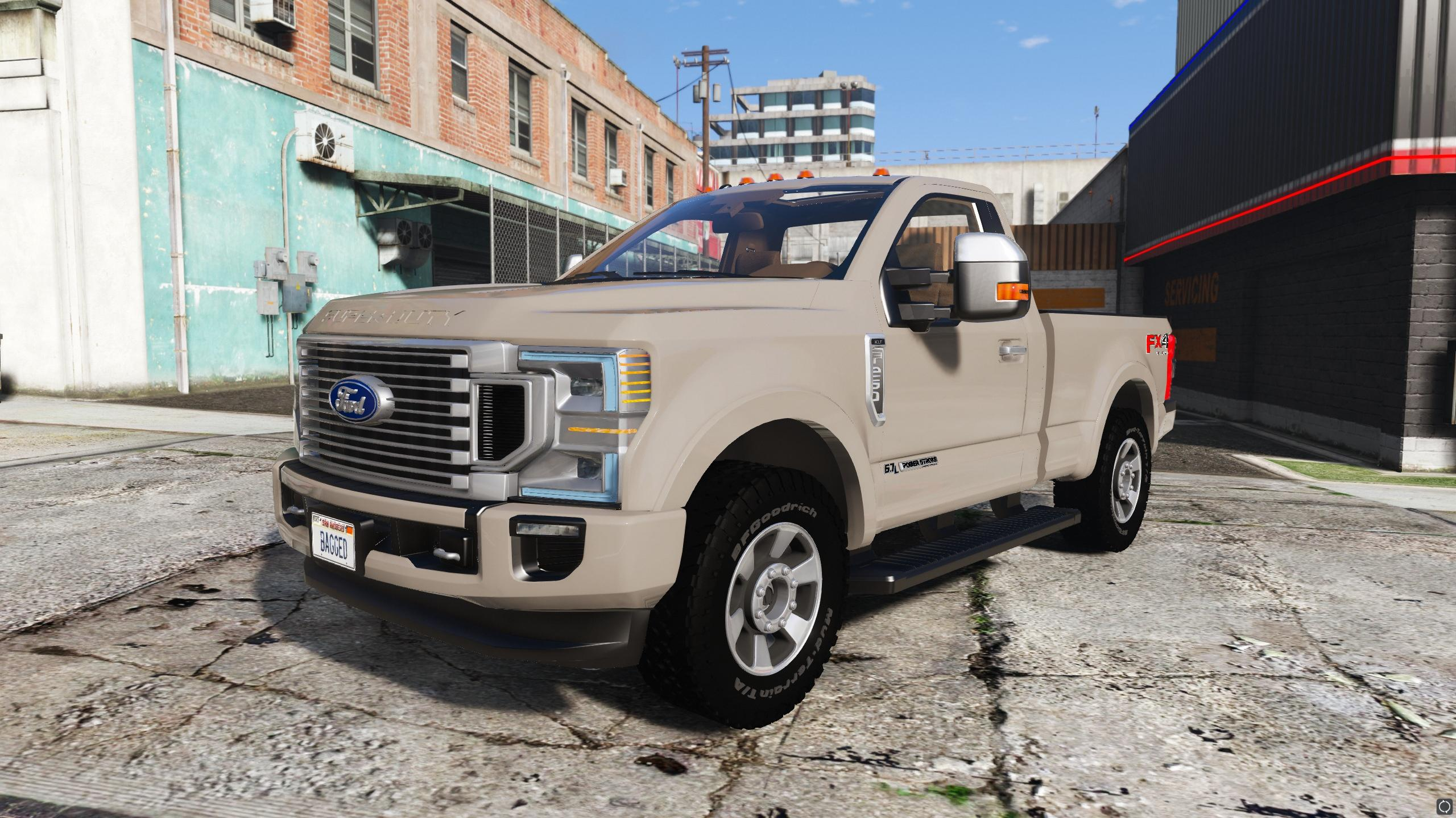 ford   super duty add  fivem friendly gta modscom