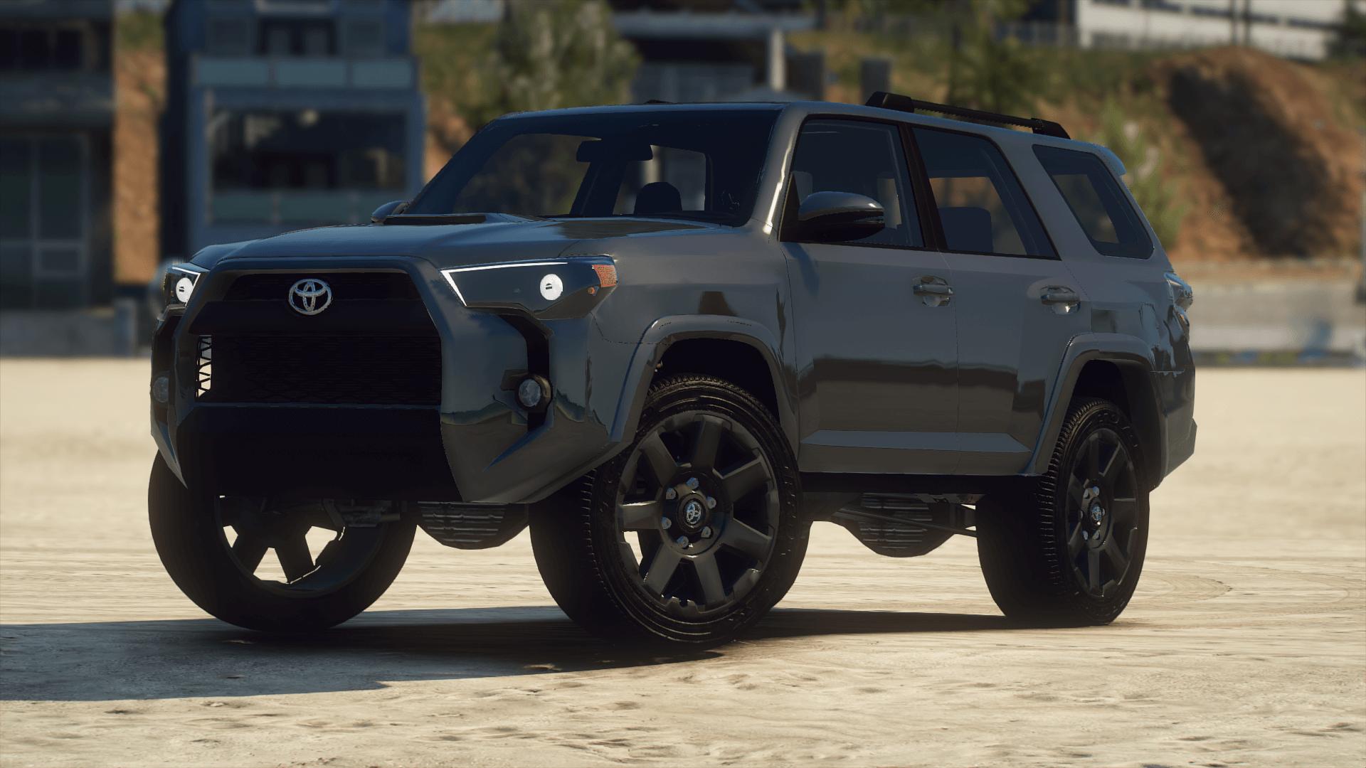 2020 Toyota 4runner Add On Fivem Gta5 Mods Com