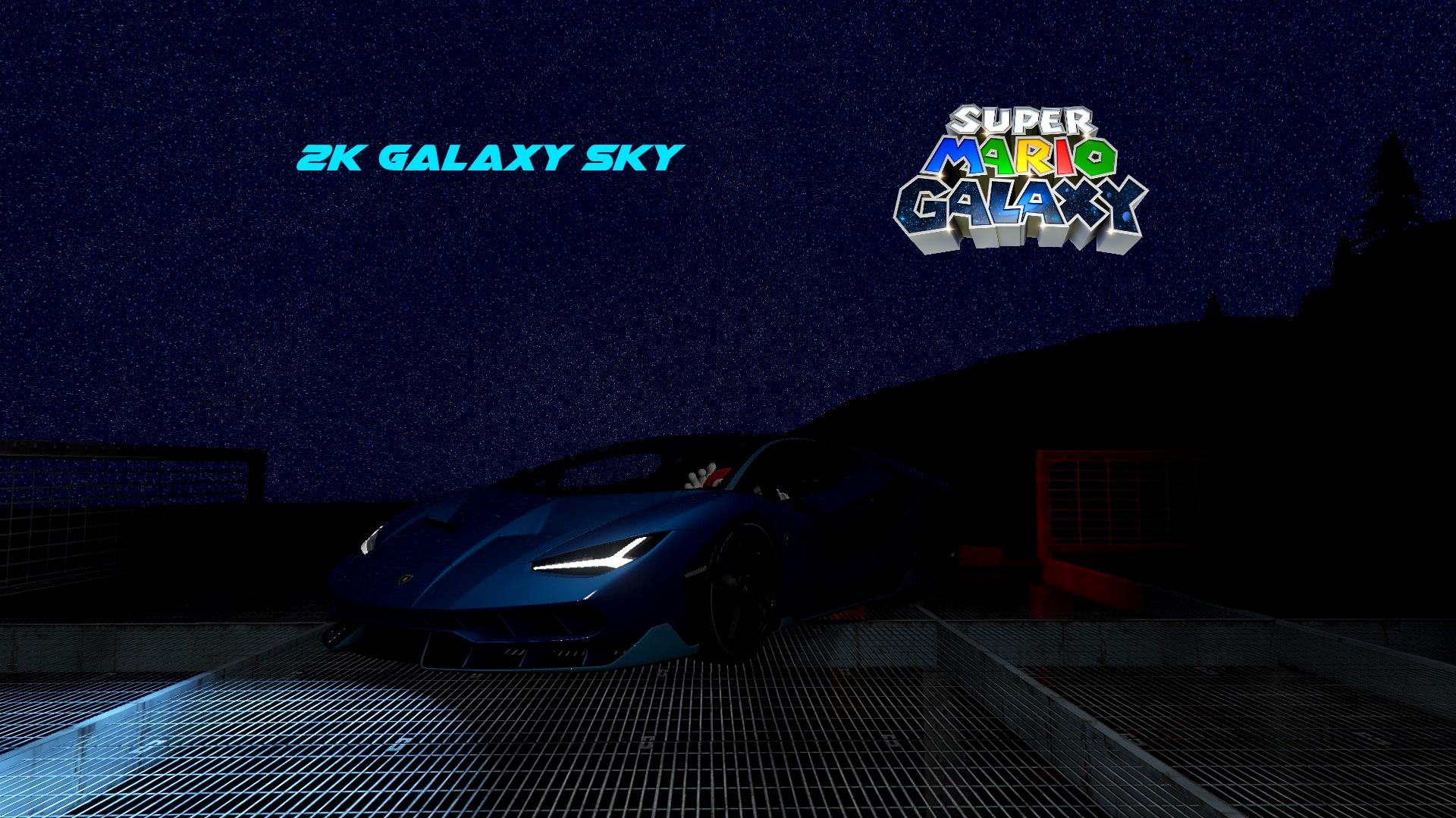2k Galaxy Sky Smg2 Style Night Sky Enhanced Starfield