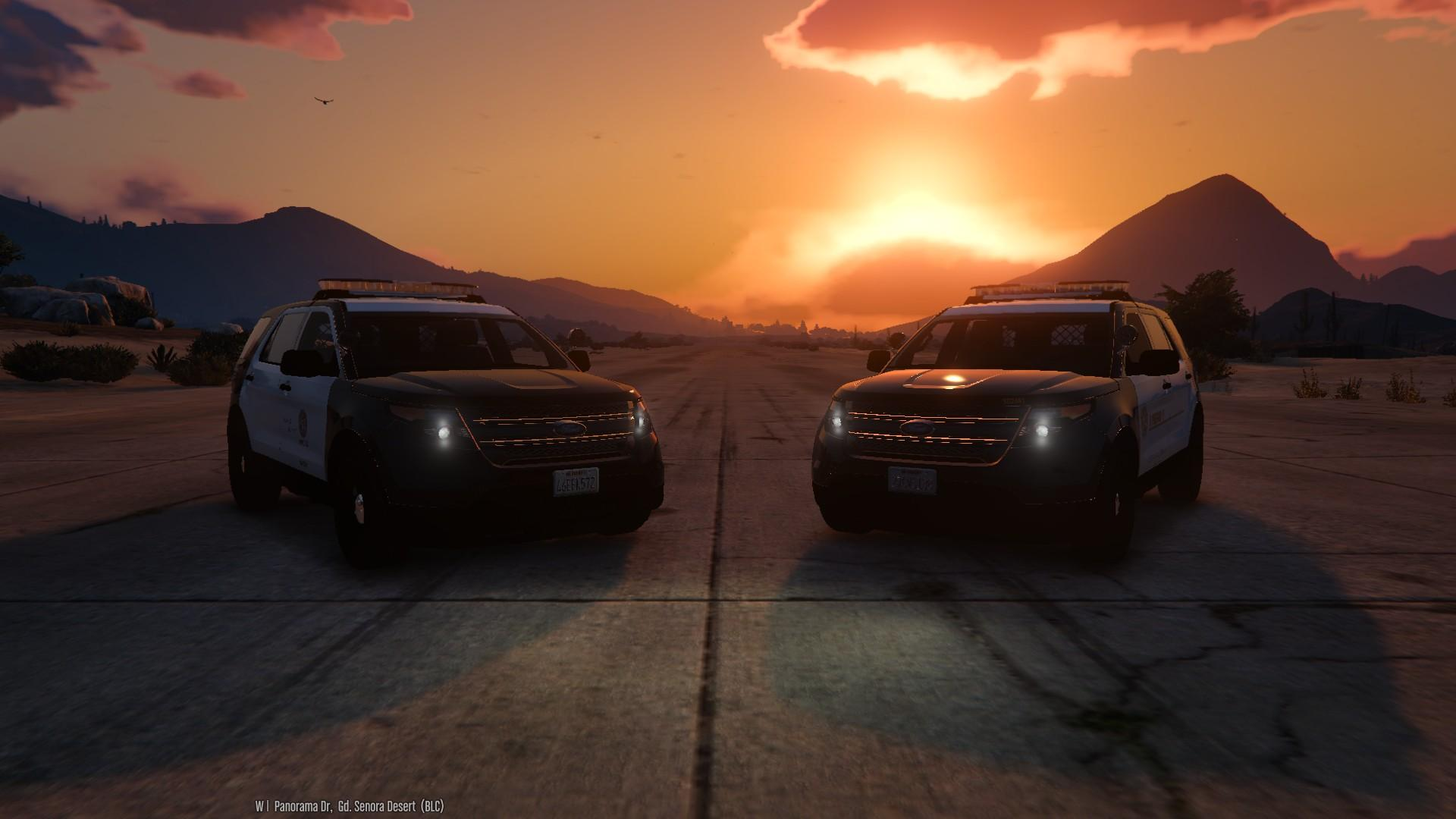 4K LSPD-LSSD Ford Explorer Skin Pack + modified tail ...