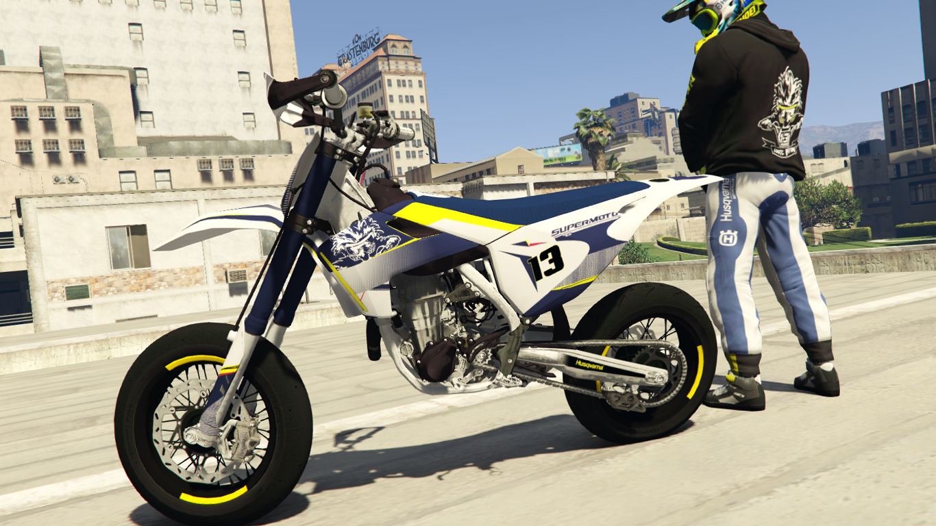 Husqvarna 701 100% Bitume Livery with Sound - GTA5-Mods.com