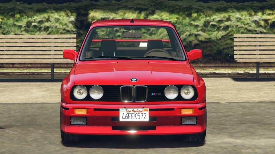 1991 Bmw E30 M3 Add On Replace Livery Gta5 Mods Com