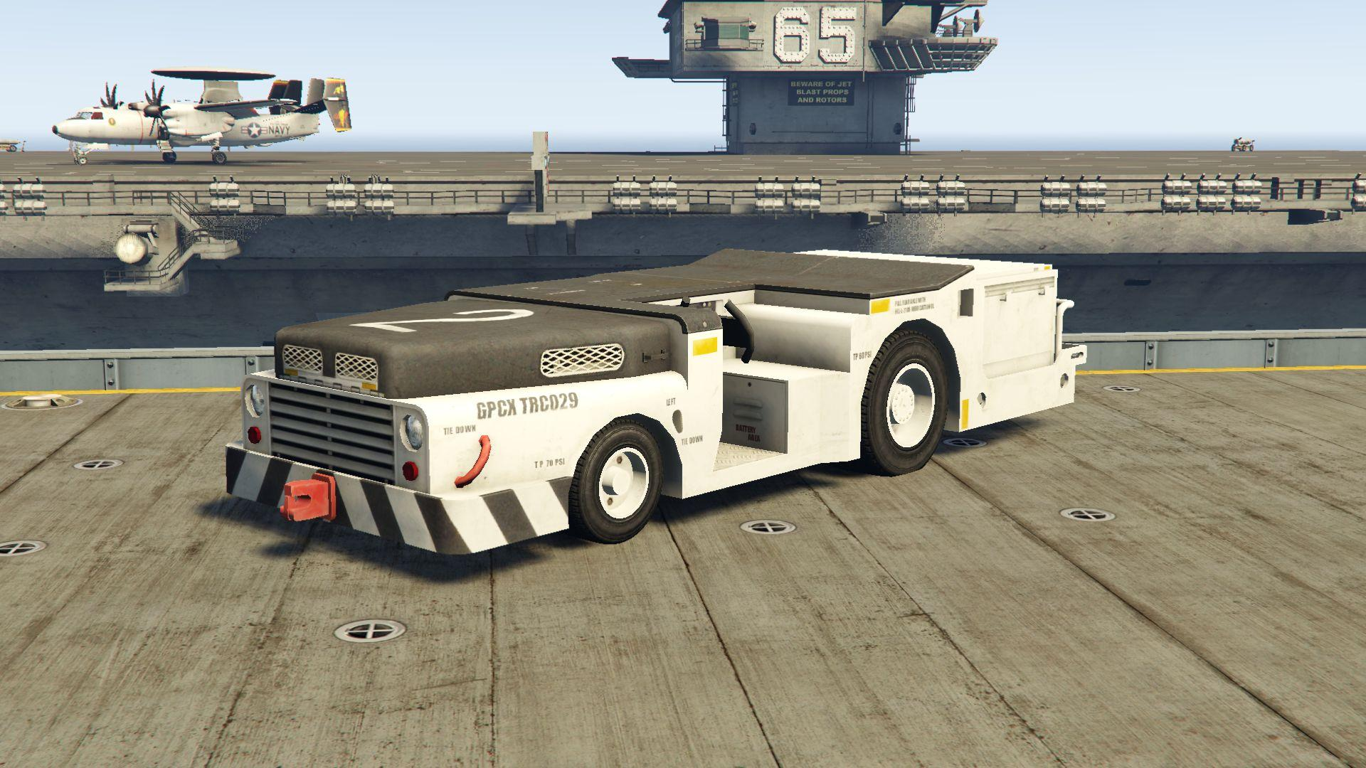 A  S32a-31a Flight Deck Tractor