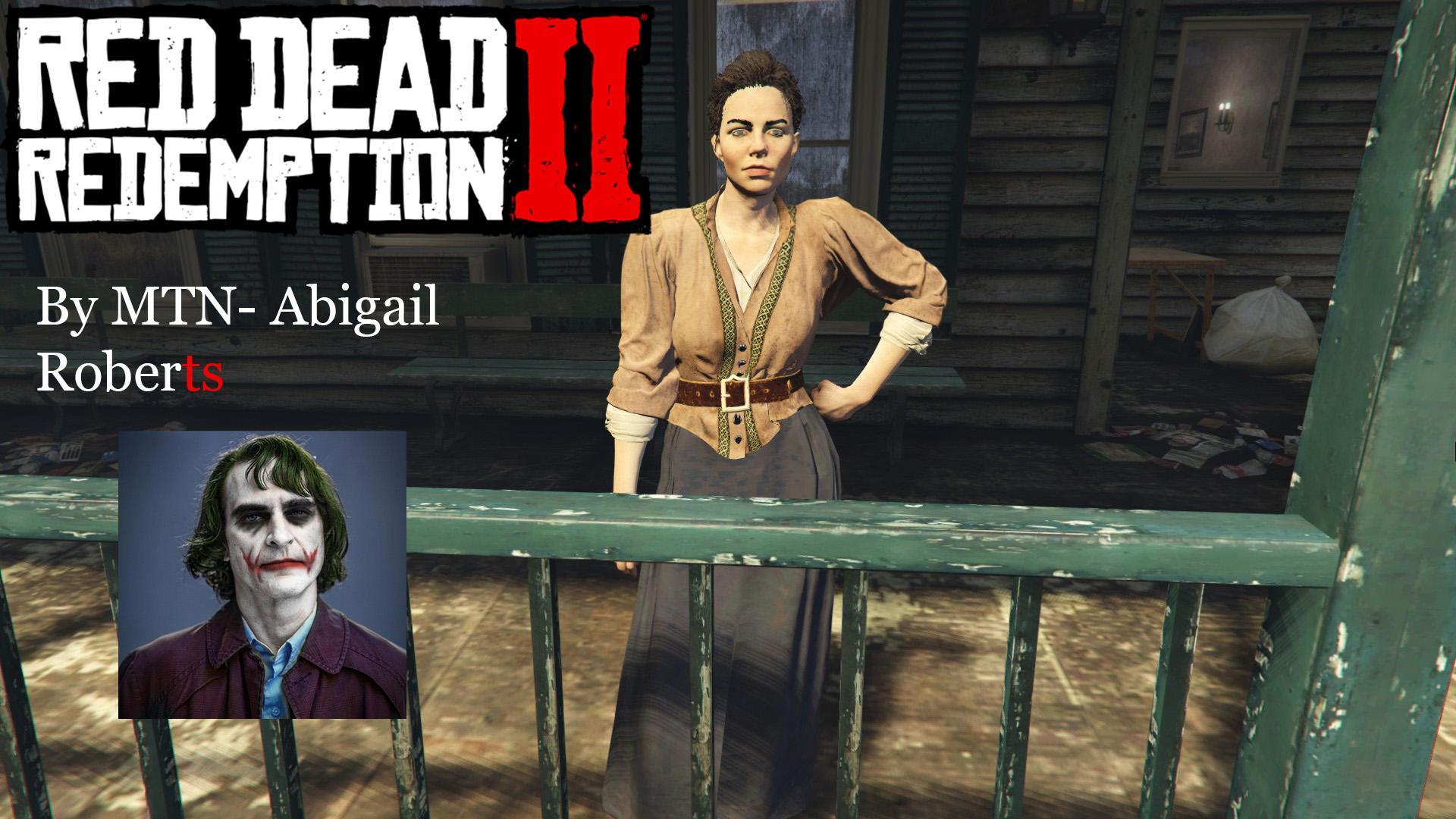 Abigail Roberts/Marston - Red Dead Redemption 2. (Addon ...