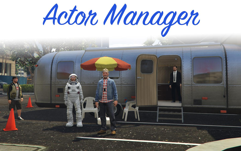 Actor manager gta5-mods. Com.