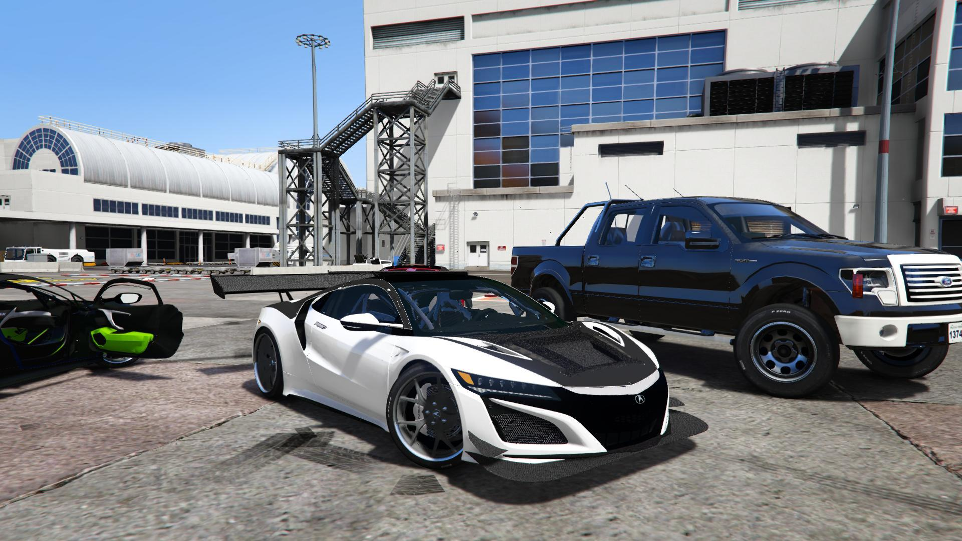acura nsx 2015 track spec unlocked gta5. Black Bedroom Furniture Sets. Home Design Ideas