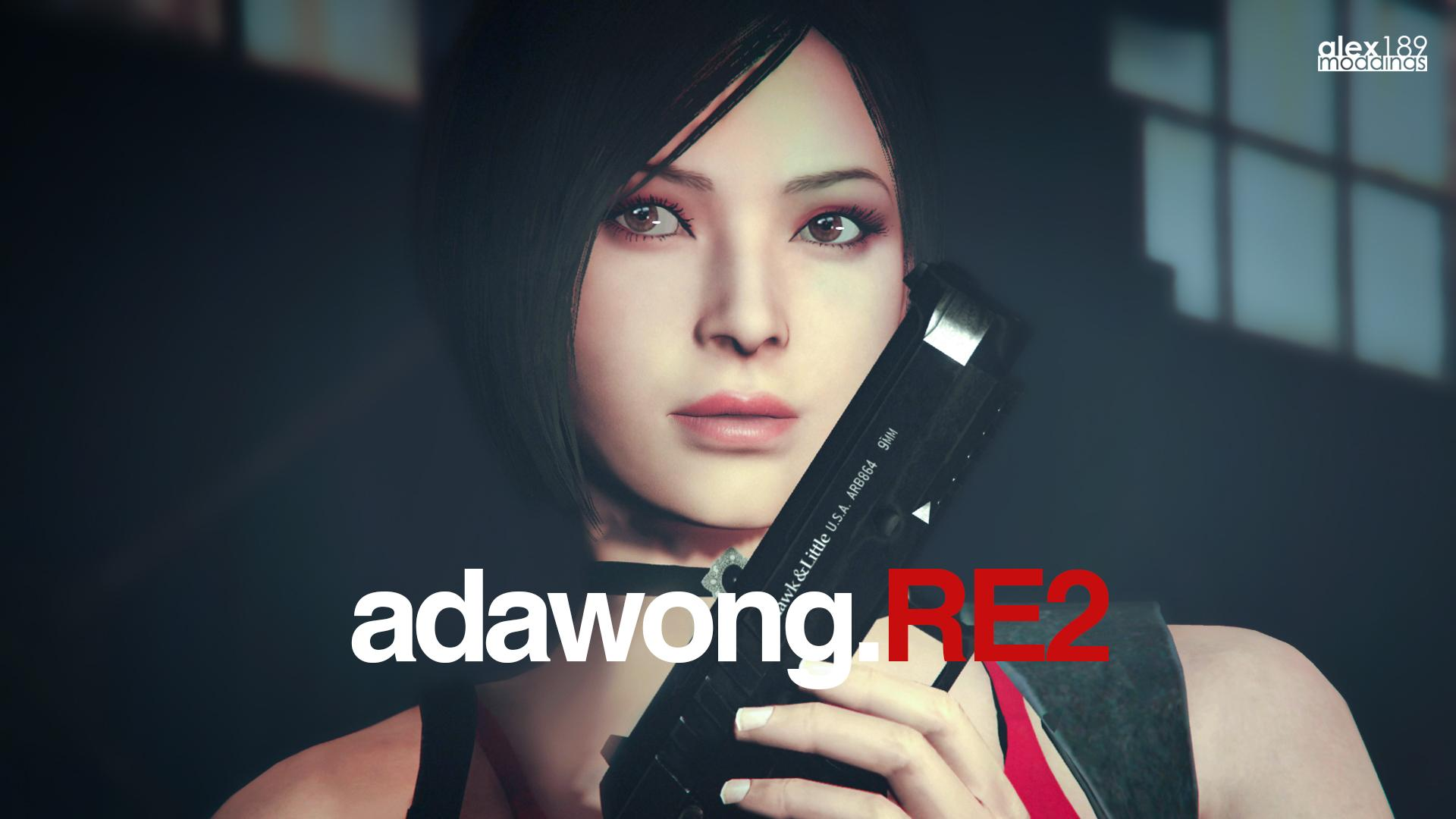 Ada Wong Resident Evil 2 Remake Add On Ped Replace Gta5 Mods Com