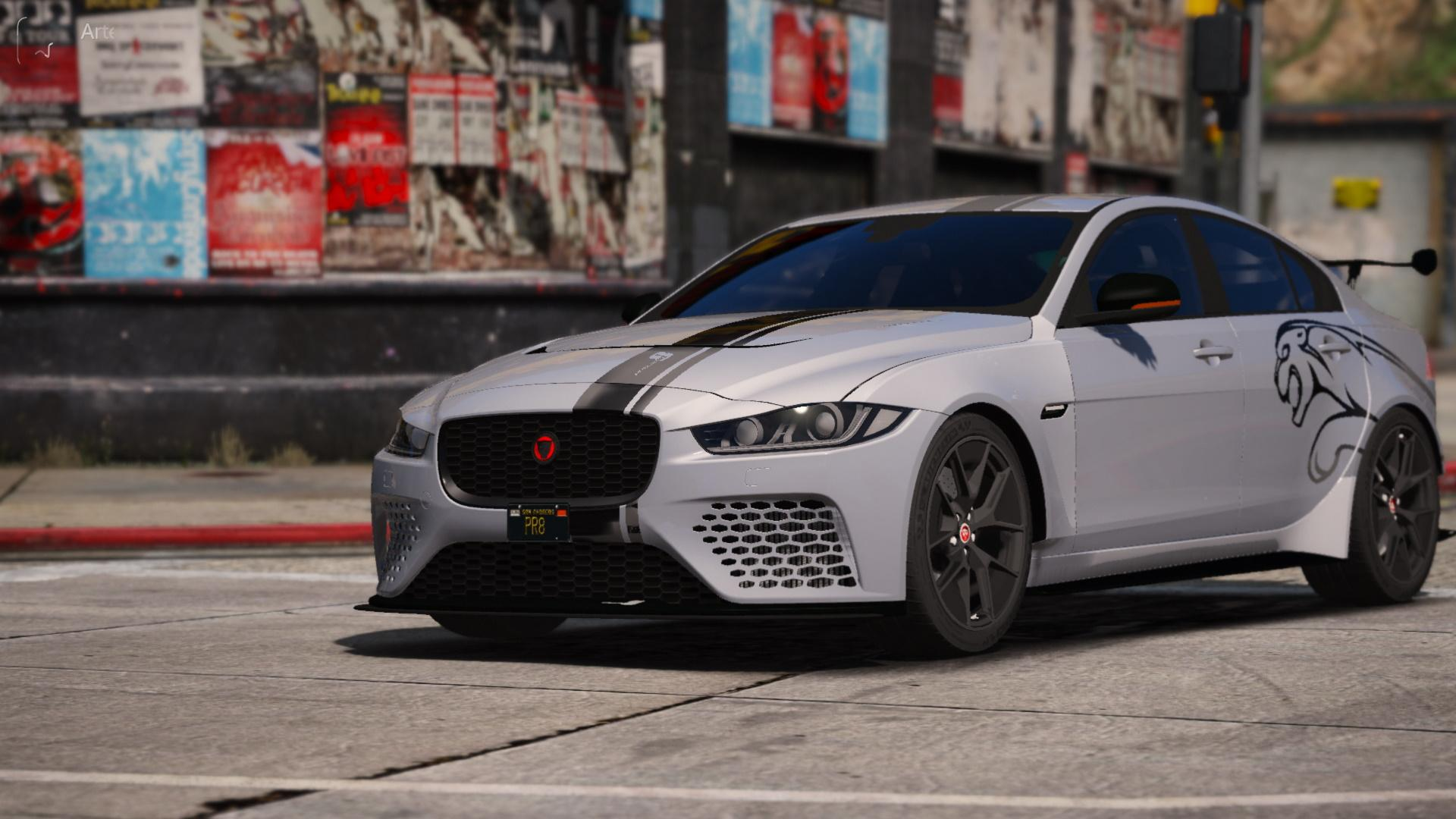 jaguar xe svr project 8  add-on