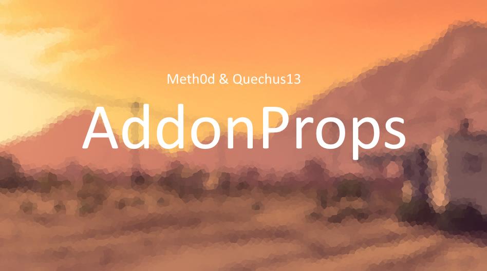 AddonProps - GTA5-Mods com