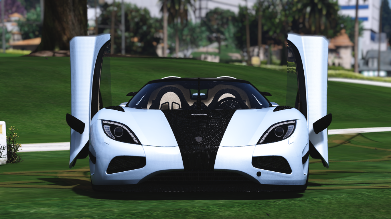Koenigsegg Agera R With Door Script Add On Gta5 Mods Com