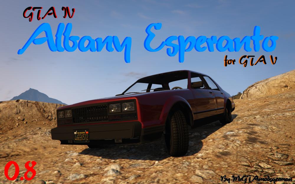 Albany Esperanto from GTA 4 - GTA5-Mods com