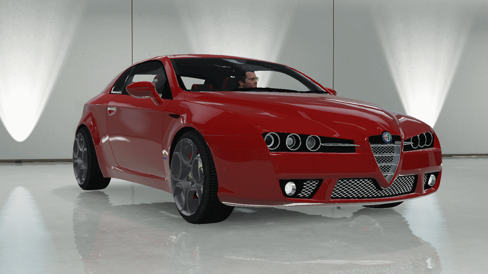 Alfa Romeo Brera Stock [Add Replace] GTA5 Mods