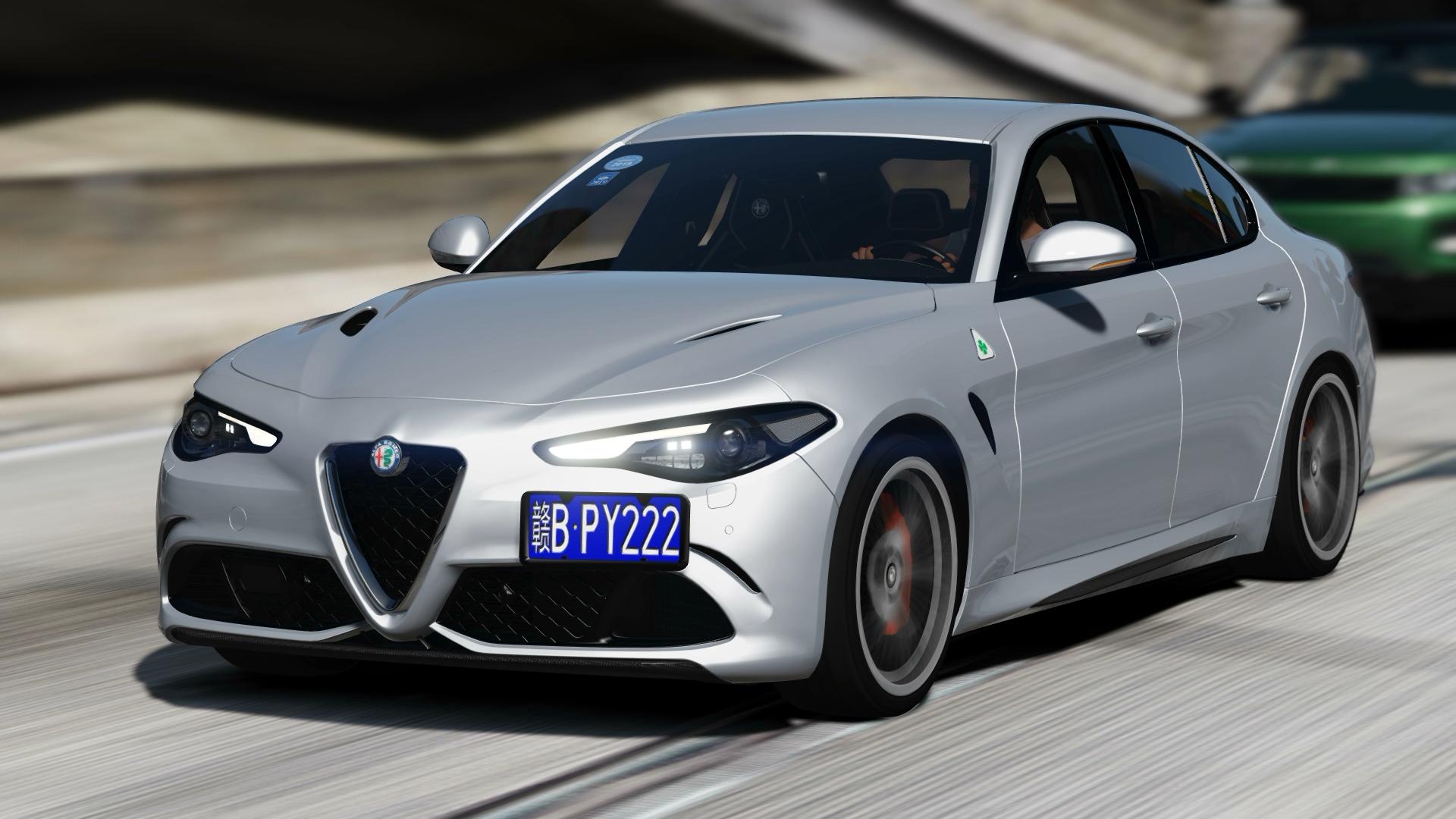 Alfa Romeo Giulia Quadrifoglio >> Alfa Romeo Giulia Quadrifoglio 17 Gta5 Mods Com