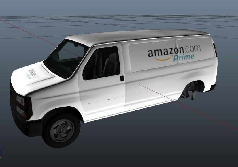 amazon prime delivery vehicle gta5. Black Bedroom Furniture Sets. Home Design Ideas