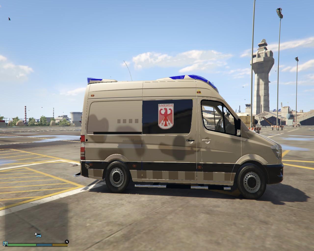 Unimog For Sale Uk >> Mercedes Sprinter German Military Ambulance - GTA5-Mods.com