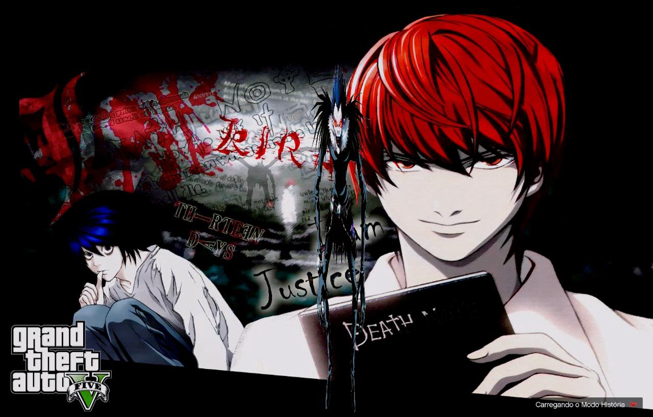 Anime Death Note Loading Screens Loading Music - GTA5-Mods.com