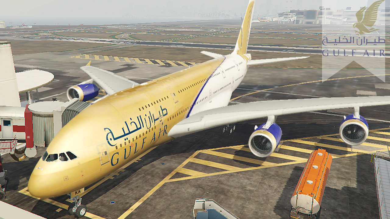 Arab Airlines Pack 2 - Airbus A380 (مجموعة طيارات عربية ...