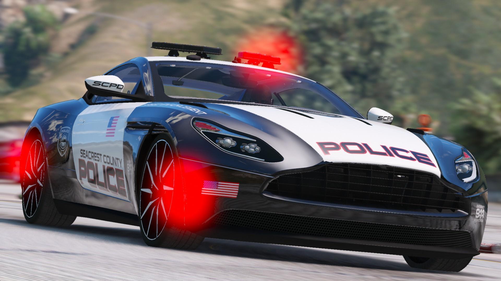 Aston Martin Db11 Scpd Els Add On Gta5 Mods Com